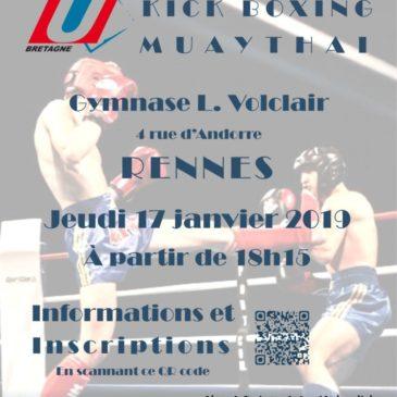 Conférence Kick boxing