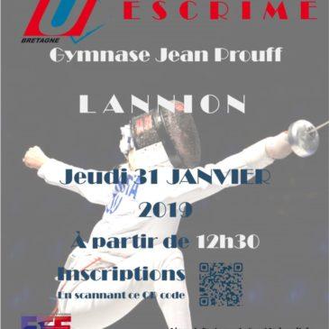 Championnat de Bretagne d'escrime