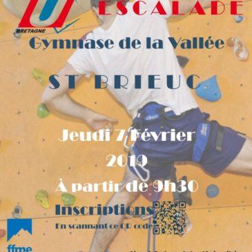 Championnat de Bretagne d'escalade