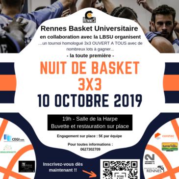 Nuit du basket 3×3