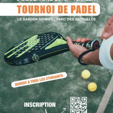 Tournoi de Padel