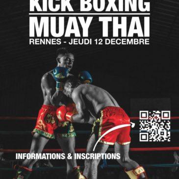 Championnat de conférence de kick-boxing / muay-thaï