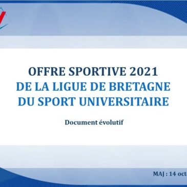 Offre sportive 2021