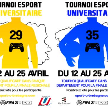 Tournoi eSport FIFA21 sur PS4