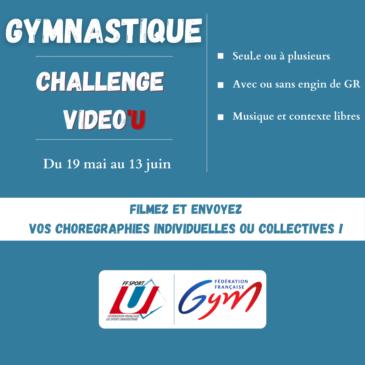 Challenge Vidéo'U Gymnastique Rythmique