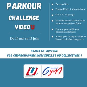 Challenge Vidéo'U Parkour